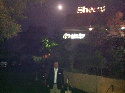 Full moon. Djibouti Sheraton Hotel n' Casino. Play roulette with German and French Légionnaires.