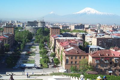 Armenia. Downton Erevan (Wikipedia)