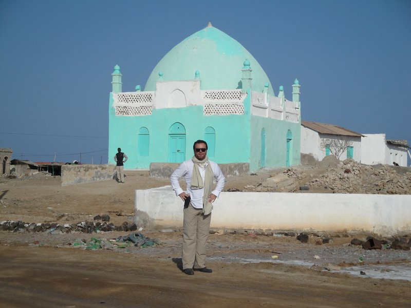Green Mosque in Saylac