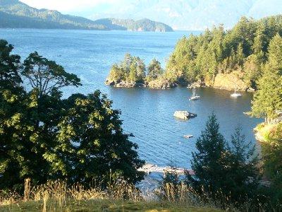 Bowen Island inlet