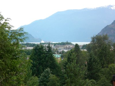 Town of Squamish - view from above