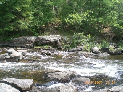 Rapids on Gull River