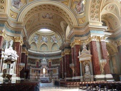 Szent István Bazilika Interior