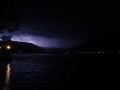 Thunderstorm over Lago di Como