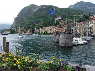 Menaggio harbour
