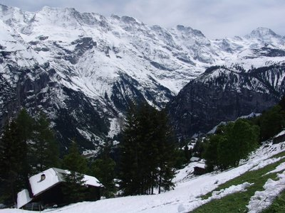 Outside Mürren