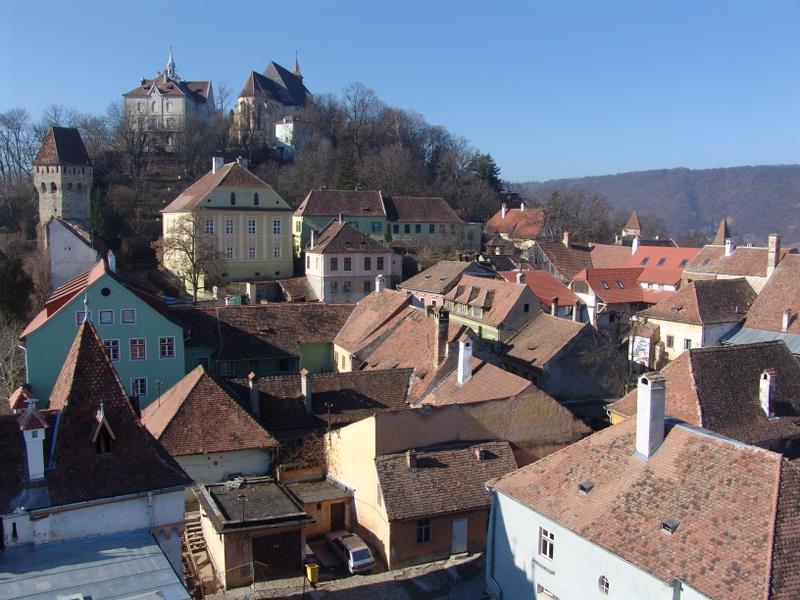 View of Sighişoara citadel