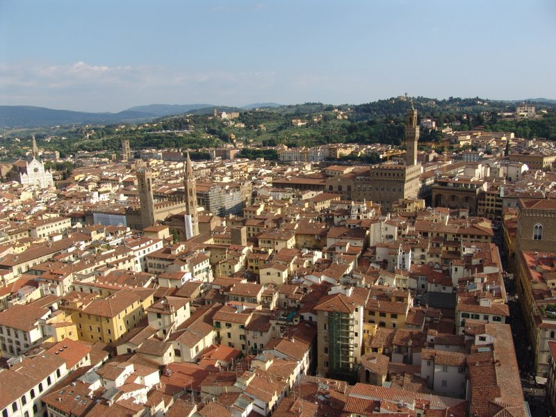 View from Campanile di Giotto