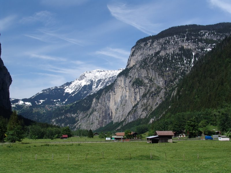 Bottom of Lauterbrunnen Valley