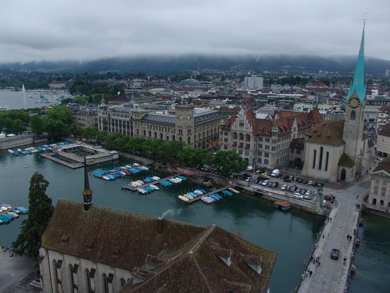 From the tower of Grossmünster