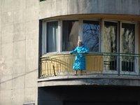 Elderly woman in Buda