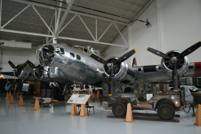 B-17 Bomber from WWII