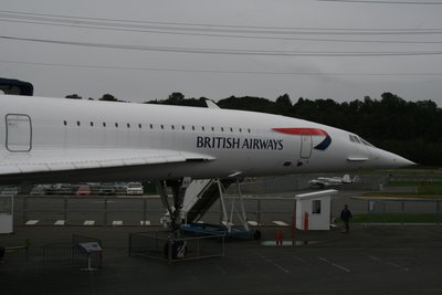 Concorde - the one that flew the last trip from LHR to JFK