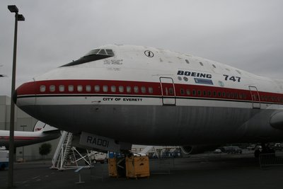The first 747 EVER !