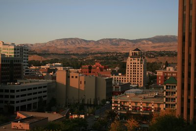 Boise Hotel View