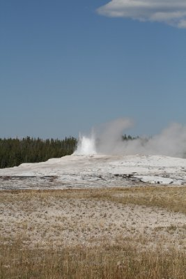 Old Faithful - just starting up