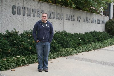 Paul at the Country Music Hall of Fame and Museum