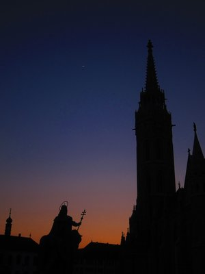 A Budapest Sunset