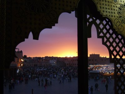 Marrakesh sunset