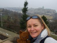 Me and Pookie in Budapest