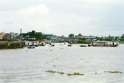 Buriganga in the Dhaka Monsoon, 1999