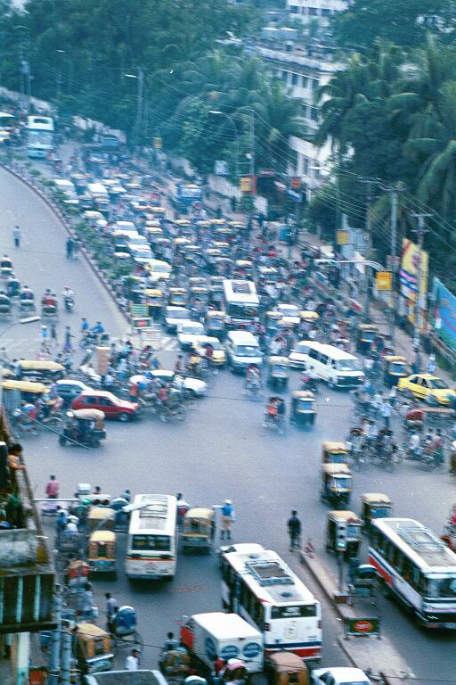 Dhaka Jam in 1999