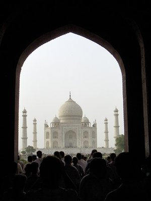 Taj Mahal and the world