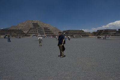 Teotihuacan Pyramids - Pyramid of the Moon