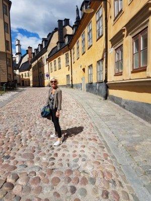 Stockholm - Jeni in Mariaberget