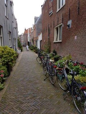 Haarlem - just one of many laneways