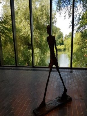 Humlebæk - Louisiana Museum of Modern Art - Alberto Giacometti Walking Man 1960