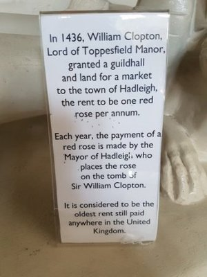 Long Melford - Holy Trinity Church - The Red Rose Rent