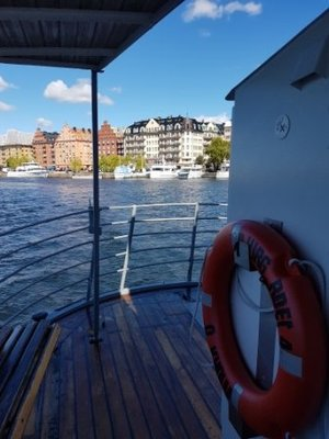 Stockholm - ferry 85 from Norr Malarstrand to Mariaberget