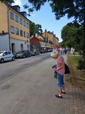 Stockholm - Jeni post ice-cream in Fjallgatan