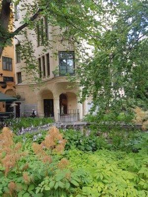 Stockholm - Centralbadet Jugendstil Garden