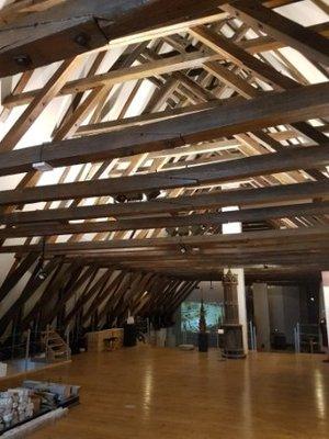 Tallinn - Restored attic in Town Hall