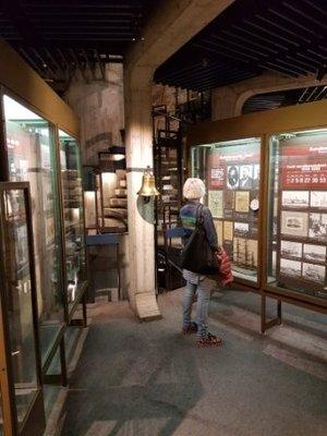 Tallinn - Jeni in Fat Margaret Tower Maritime Museum