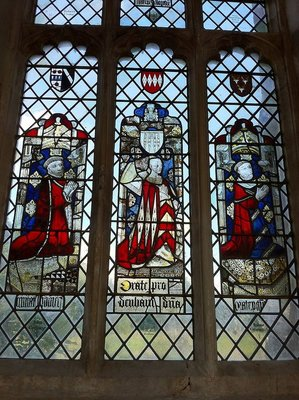 Long Melford - Holy Trinity Church - medieval stained glass