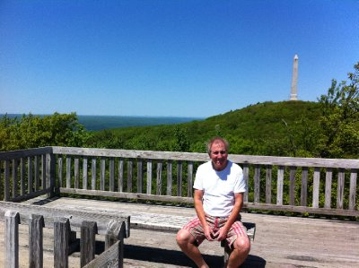 New Jersey - High Point Park - the highest point in New Jersey at 1803 ft
