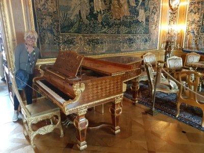 Stockholm - Hallwylska Palatset Museum - Steinway