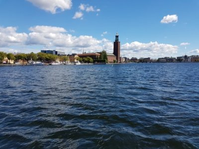 Stockholm - ferry 85 from Norr Malarstrand to Mariaberget (2)