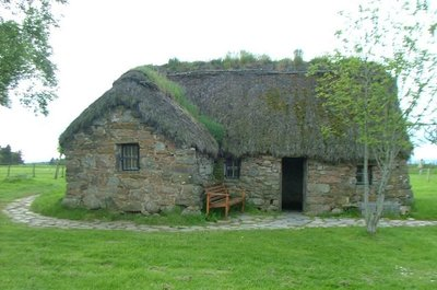 Culloden Battlefield house, Scotland
