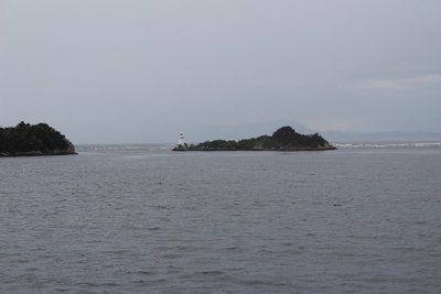 Hells Gate. Entrance to Macquarie Harbour, Strahan, Tasmania