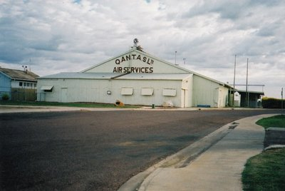 Original Qantas Hangar in Longreach, West Queensland