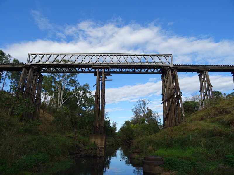 Brisbane Valley Rail Trail bridge