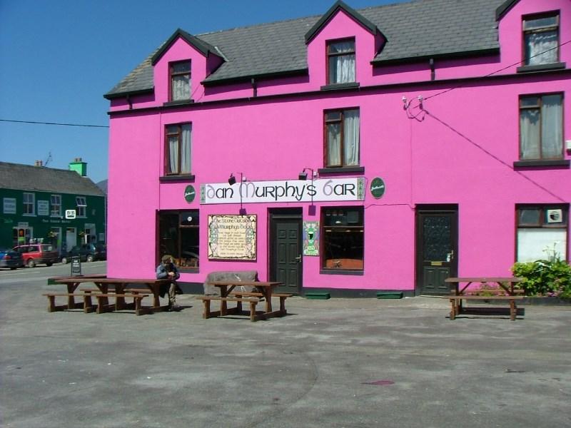 Dan Murphys Bar in Sneem on the Ring of Kerry, Co Kerry, Ireland
