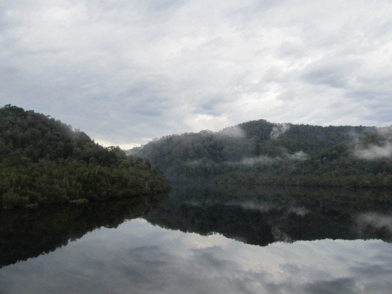 Gordon River, Tasmania. World Heritage Area