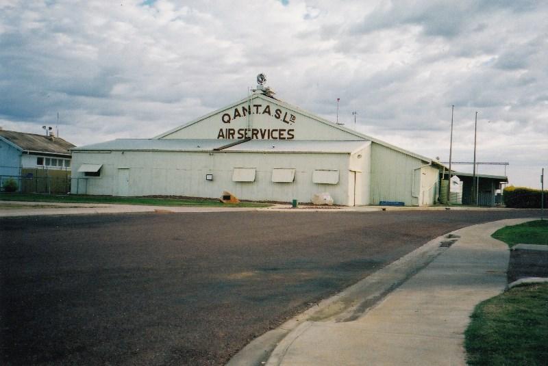 Original Qantas Hangar in Longreach, West Queensland