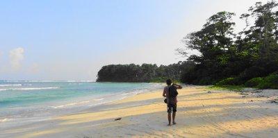 Empty beaches on Little andaman