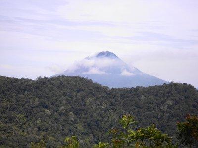 Volcano in Berastagi